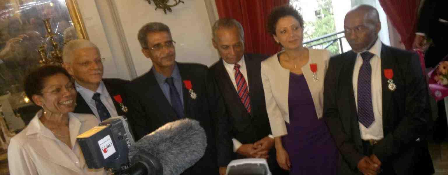 José PENTOSCROPE, Président du CIFORDOM élevé au rang de Chevalier de l'Ordre de la Légion d'Honneur