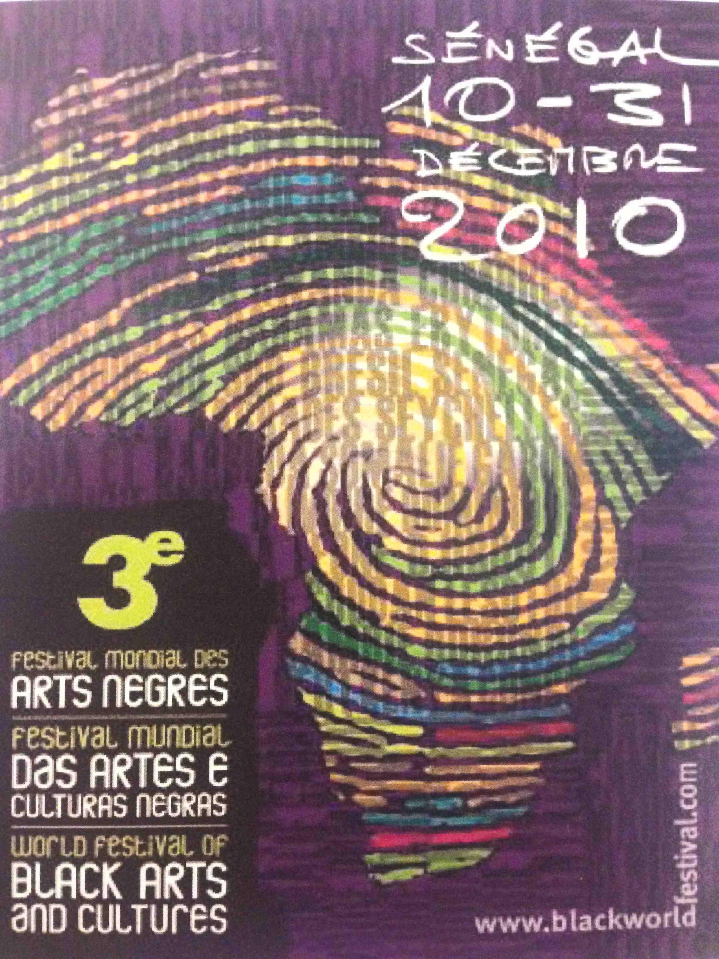 FESTIVAL MONDIAL DES ARTS NÈGRES