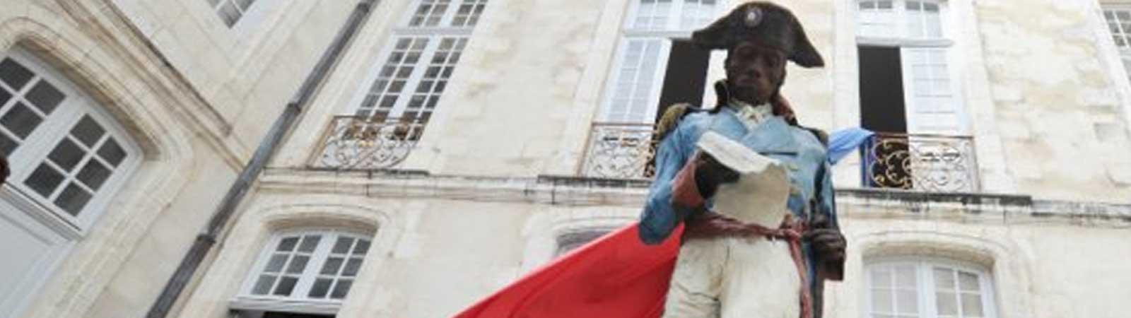 INAUGURATION DE LA STATUE DE TOUSSAINT LOUVERTURE