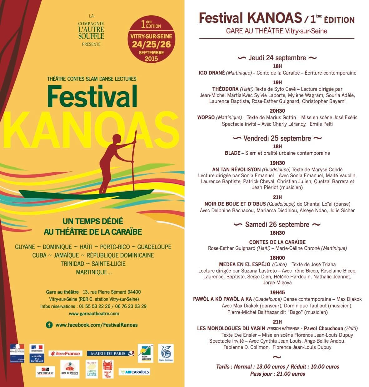 Flyer Festival Kanoas