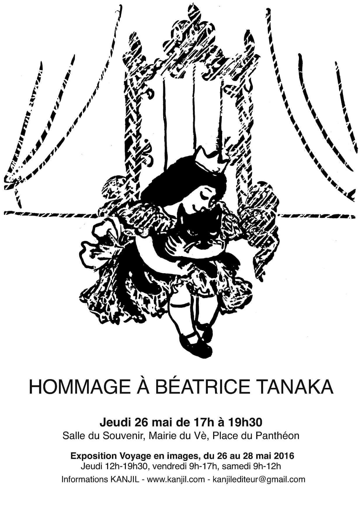Affiche Beatrice Tanaka