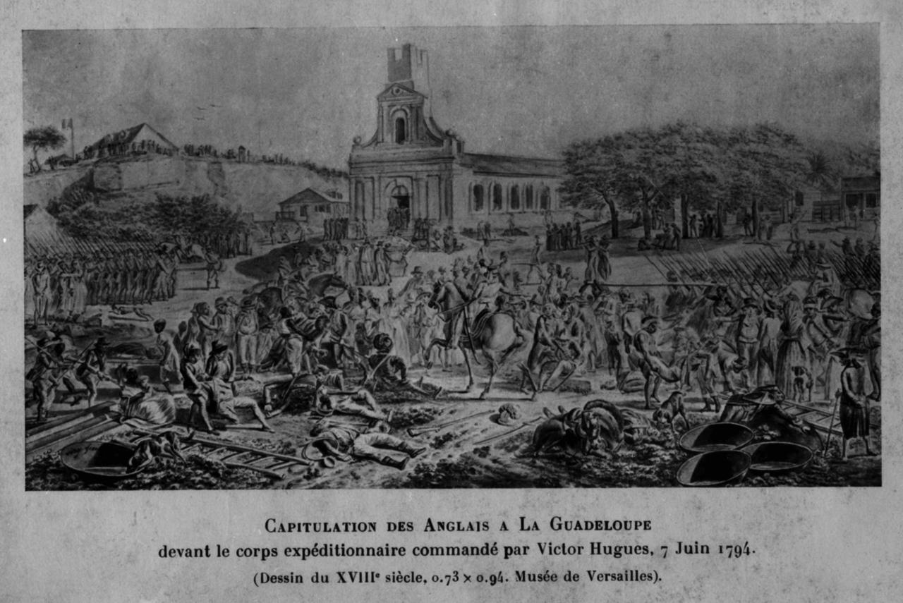 1789 a 1815 Regards croises sur la Martinique anglaise esclavage et la guadeloupe francaise revolution de 1789 Consequences et Enjeux actuels sur la culture et le ressenti dans les deux departements